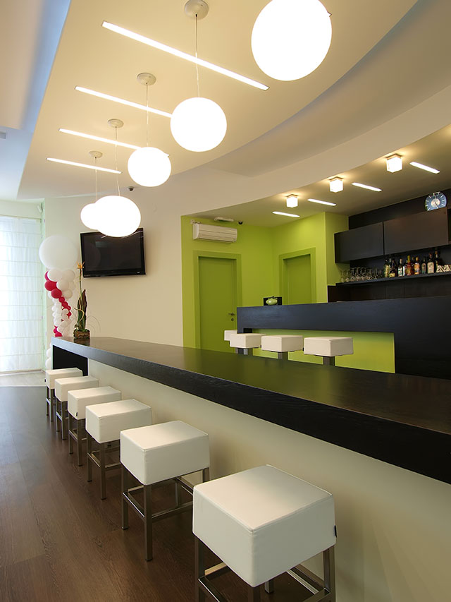 Basement Bar Cabinetry Ideas Modern Cleveland By ...